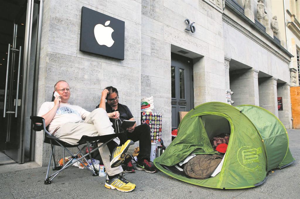 apple kampiranje