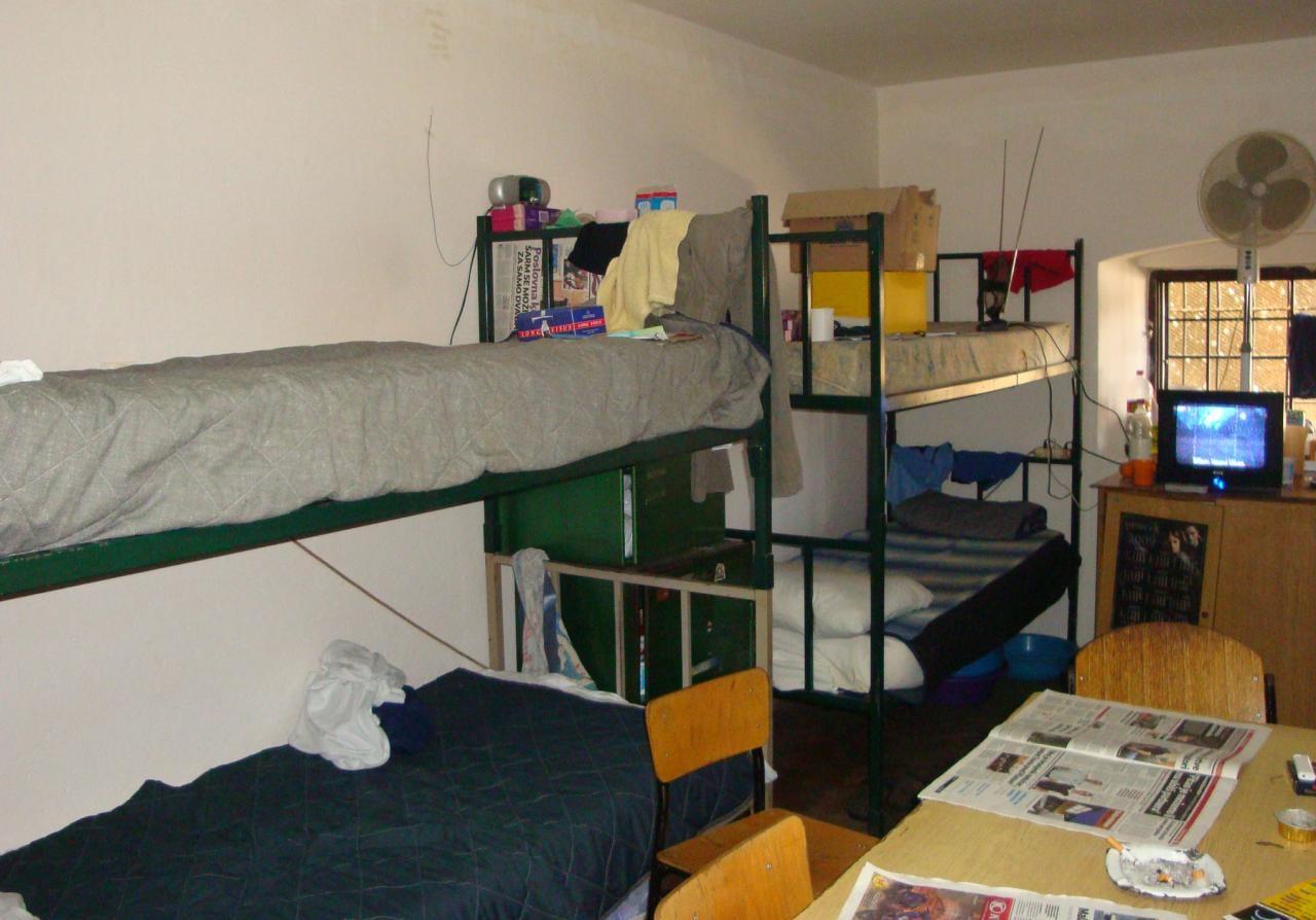 Ćelija za četiri zatvorenika u Sisku