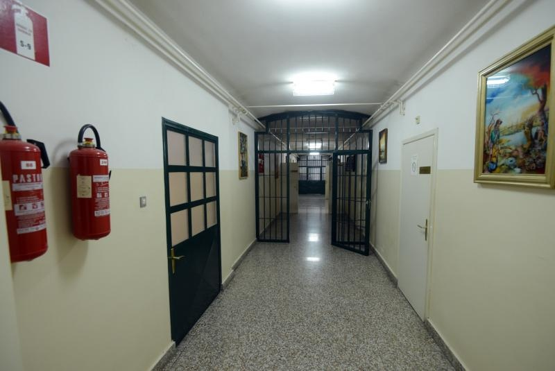 Zatvorski hodnik u Lepoglavi