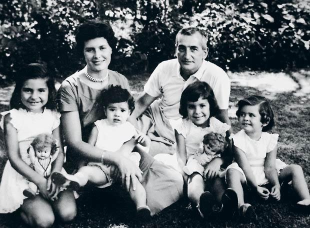 H.G. Oesterheld s obitelji