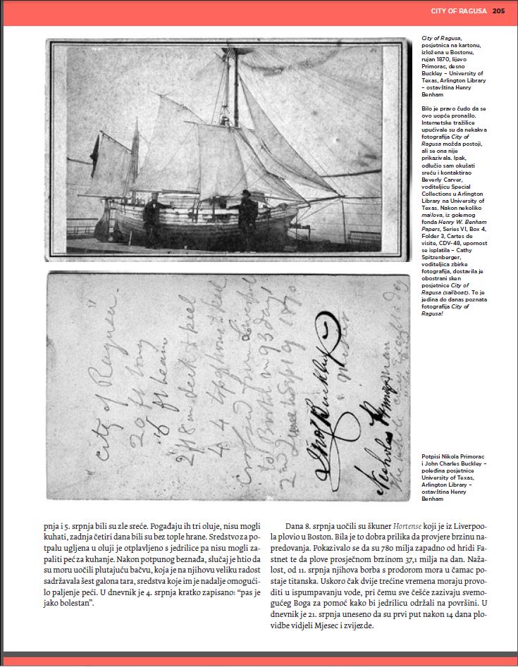 Istraživanje o Draganu Primorcu objavljeno je u magazinu Gordogan br. 29-30, 2014.