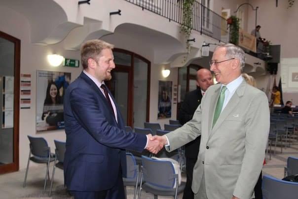 Vit Jedlička susreo se s austrijskim ambasadorom