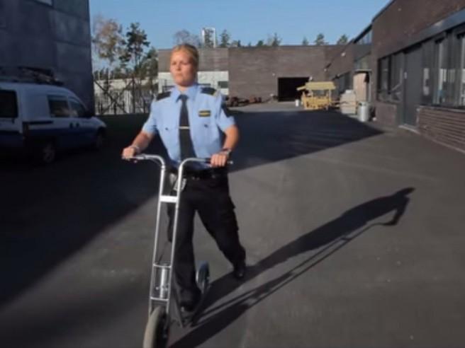 Neformalno prijevozno sredstvo čuvara