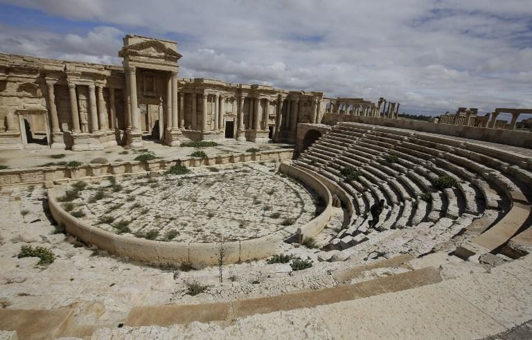 Sirija - Palmira - amfiteatar