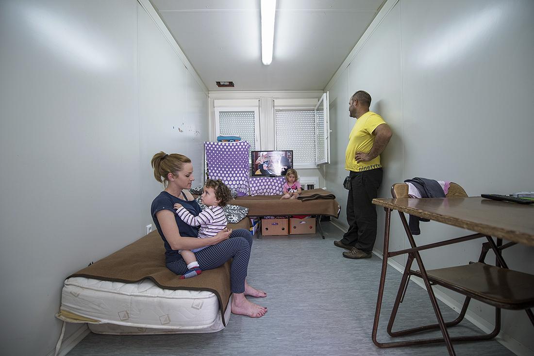 Obitelj Ahmetović živi u kontejneru od 13 kvadrata