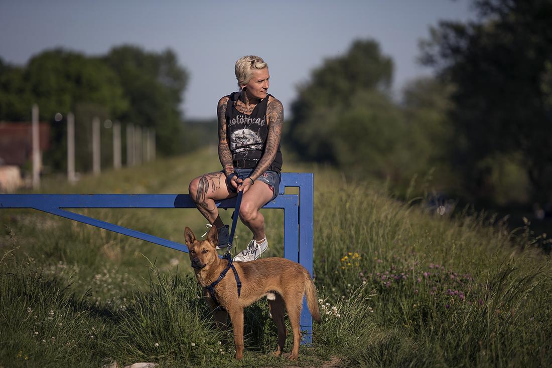 Slađana Stojković napravila je azil za napuštene životinje u kontejnerskom naselju