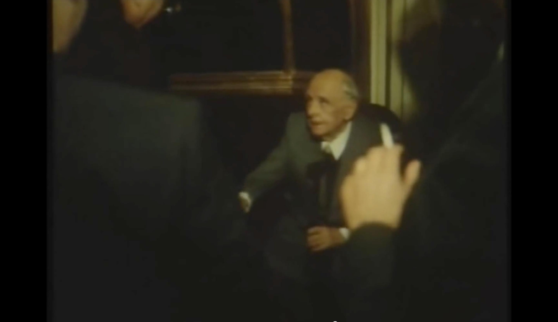 Krleža snimljen 1976. godine u zagrebačkom HNK