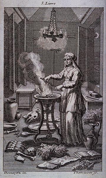Ilustracija vještice