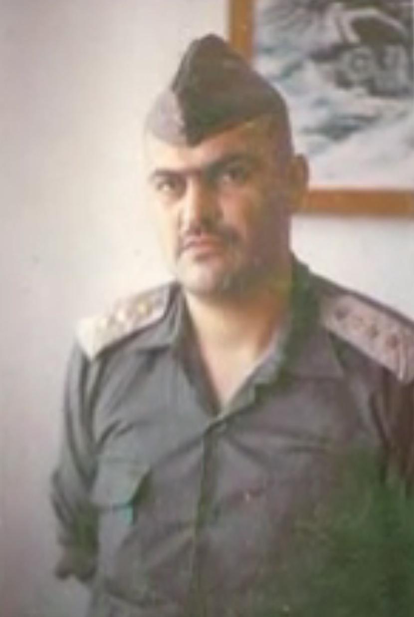 Dragomir Grujović u vrijeme kad je bio u JNA