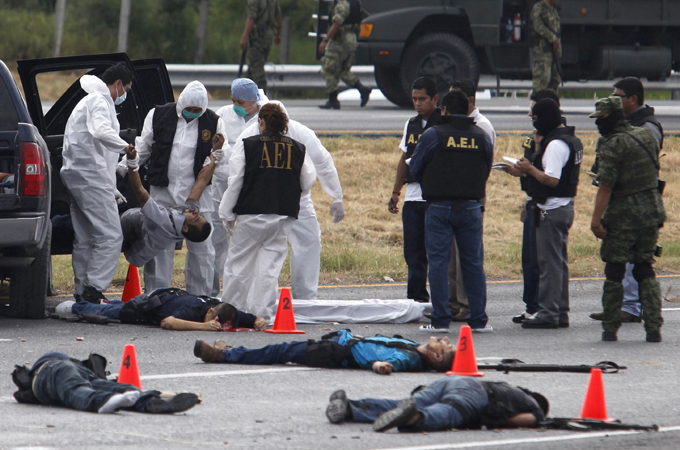 meksiko kolumbija rat