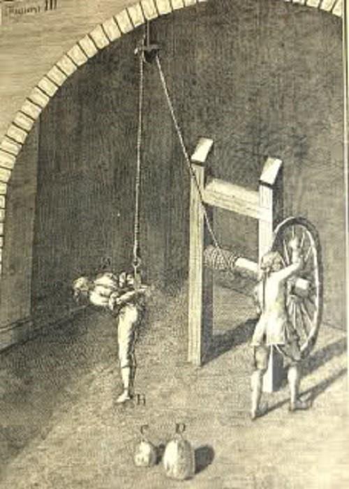 Jedna od sprava za mučenje
