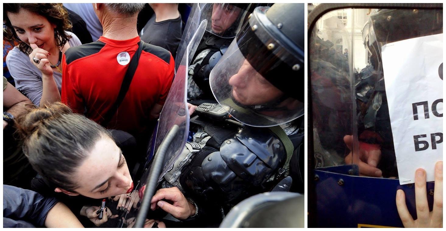 Prosvjednica u Skoplju