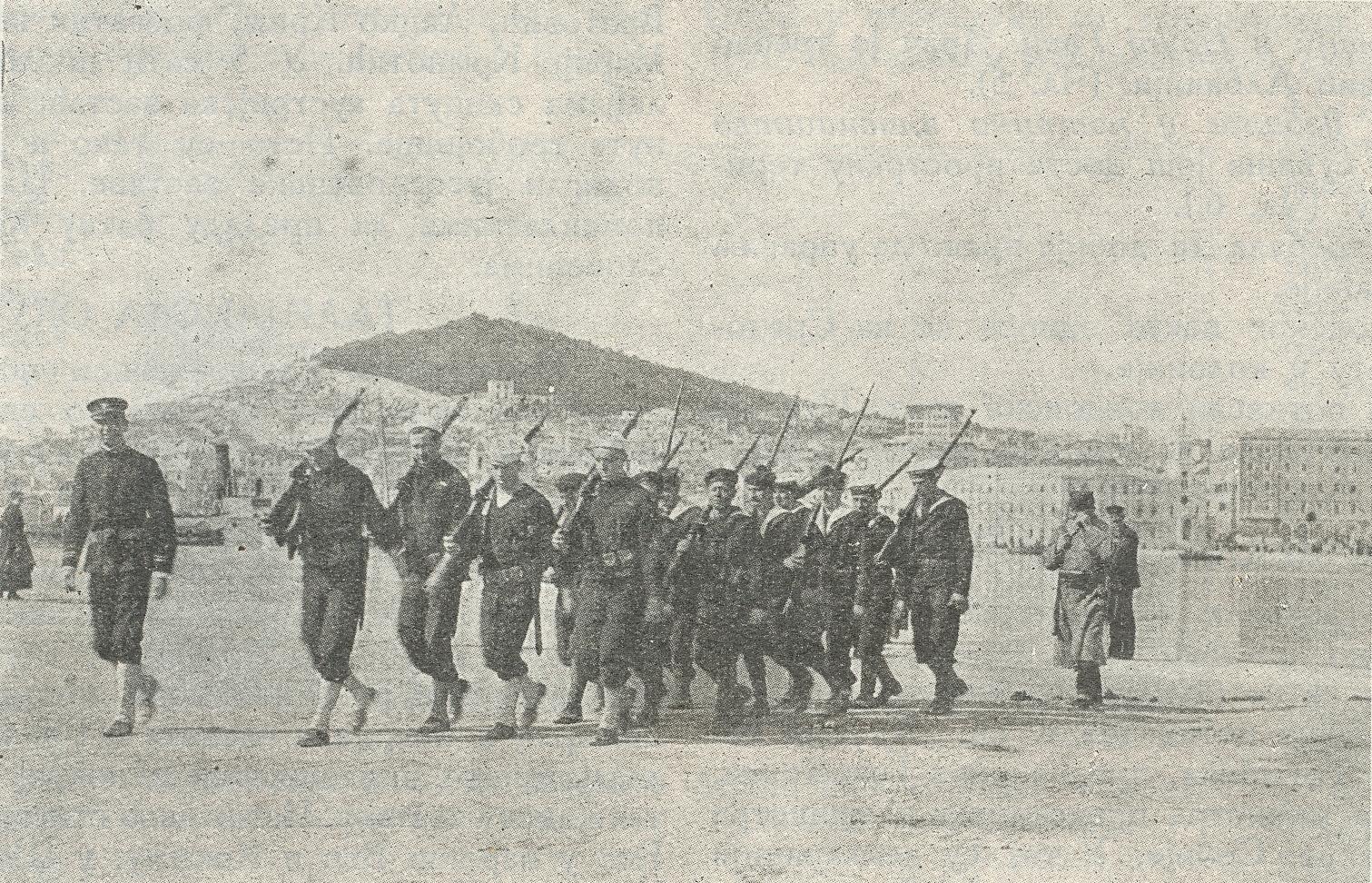 Saveznicki mornari u Splitu  prvih dana 1919.  godine