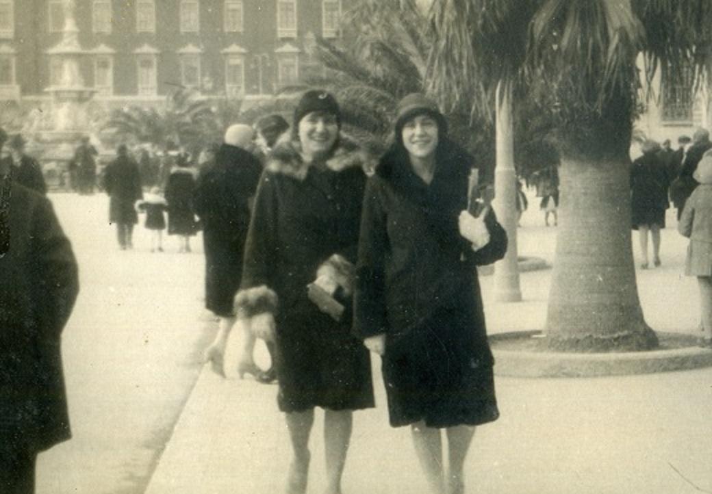 Dvije dame na Rivi 1928. godine