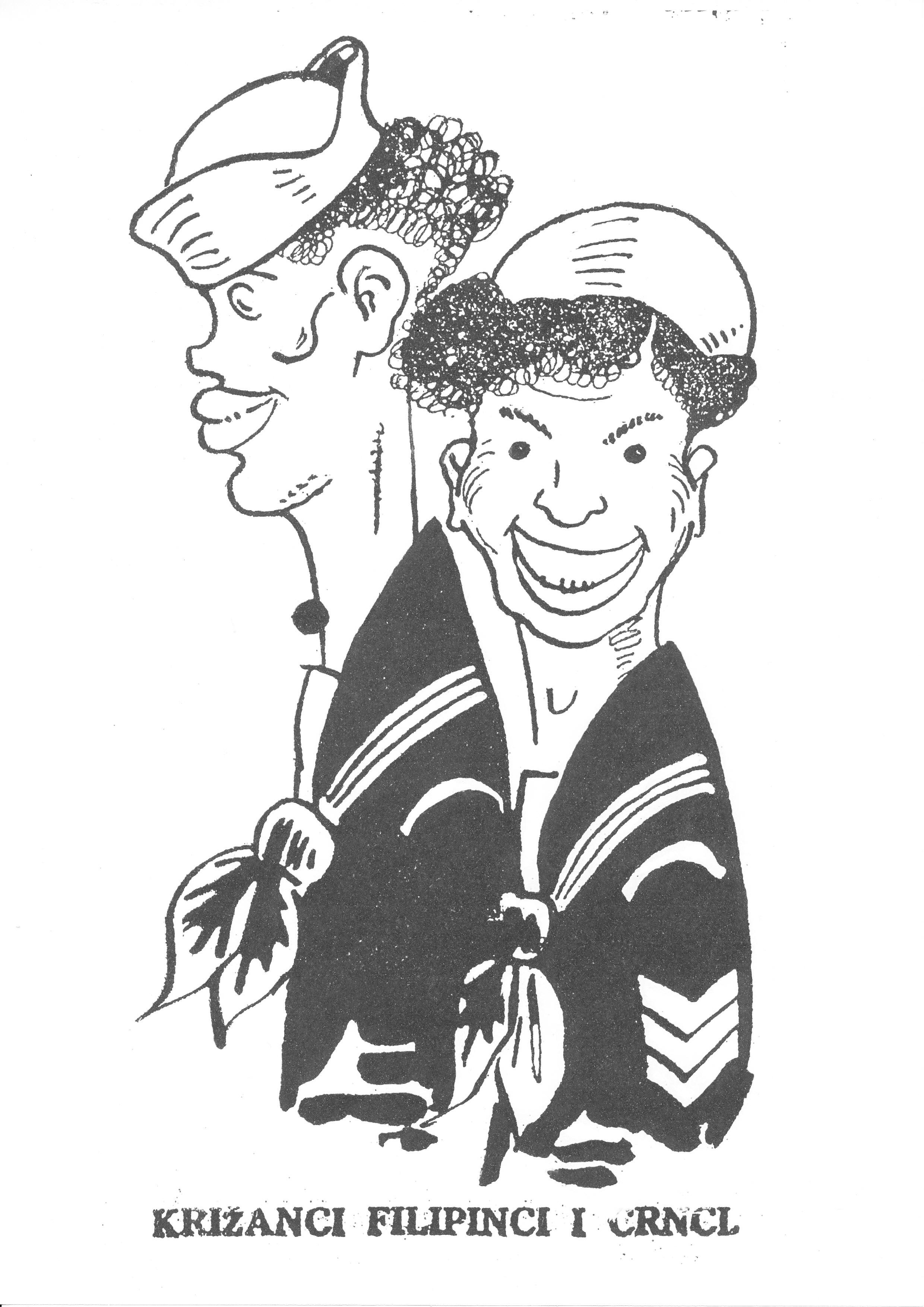 Tijardovićevi 'Križanci Filipinaca i crnaca'