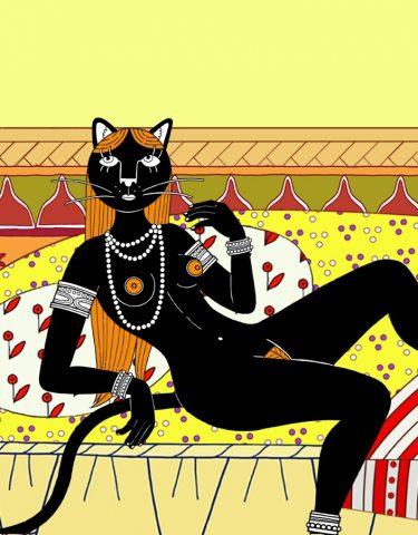 milf lezbijke lizanje maca