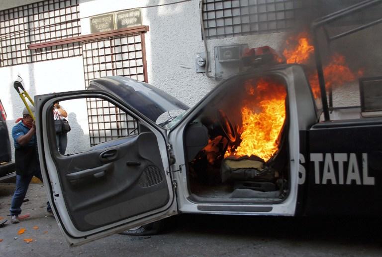 Prosvjedi protiv vlasti u državi Guerrero