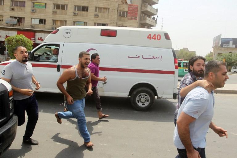 Hitna pomoć nakon detonacije bombe u četvrti Kerrada