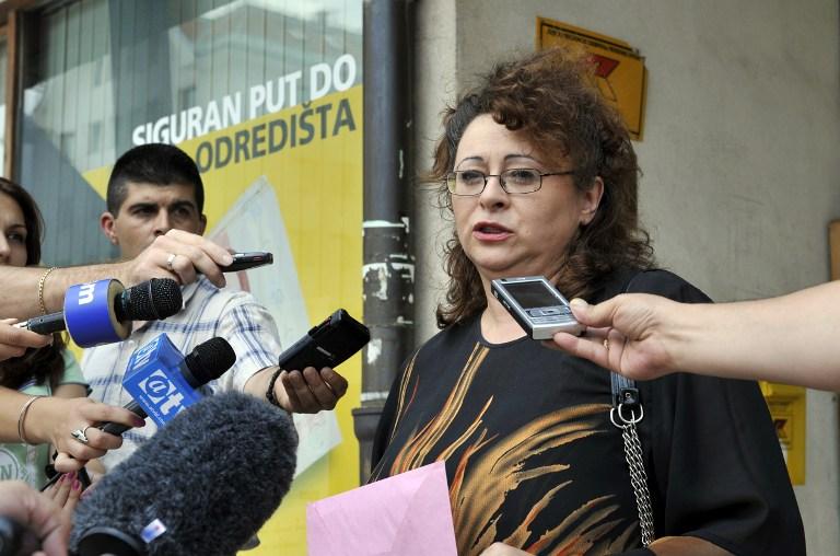 Sonja Jovičević-Karadžić, kći Radovana Karadžića