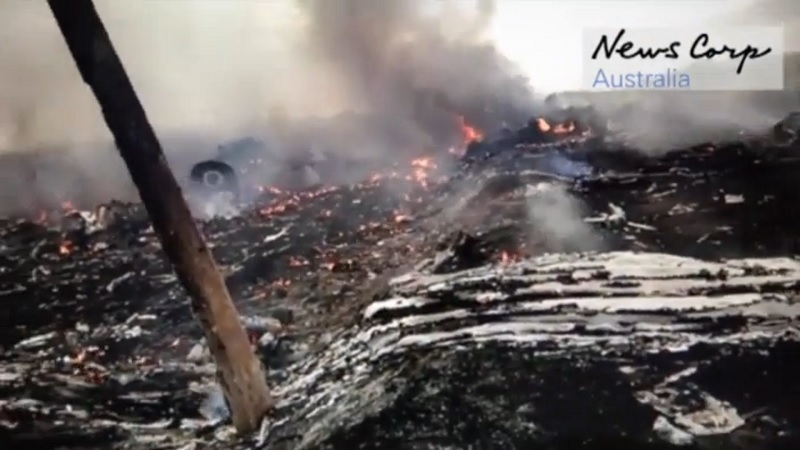 Ostaci zrakoplova MH17