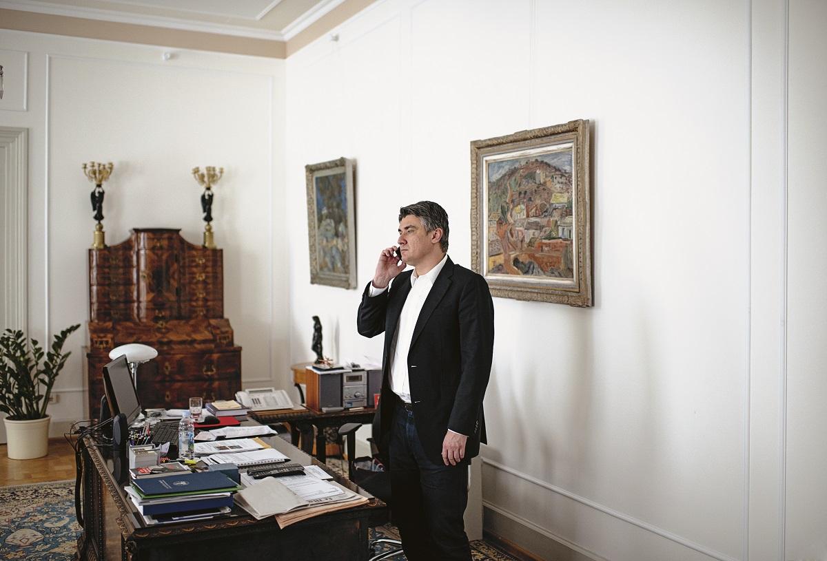 Premijer Zoran Milanović dugo nije davao intervjue
