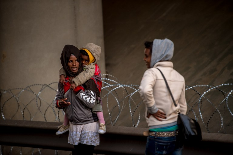 Migranti koji su zaobišli policijske blokade
