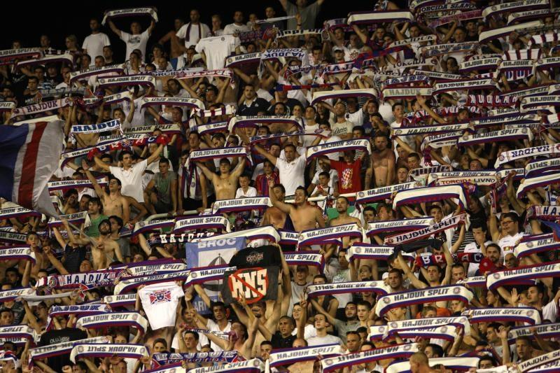 Navijači Hajduka na Poljudu