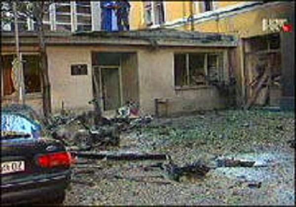 Npadač-samoubojica zabio se autobombom u zgradu policijske stanice u Rijeci