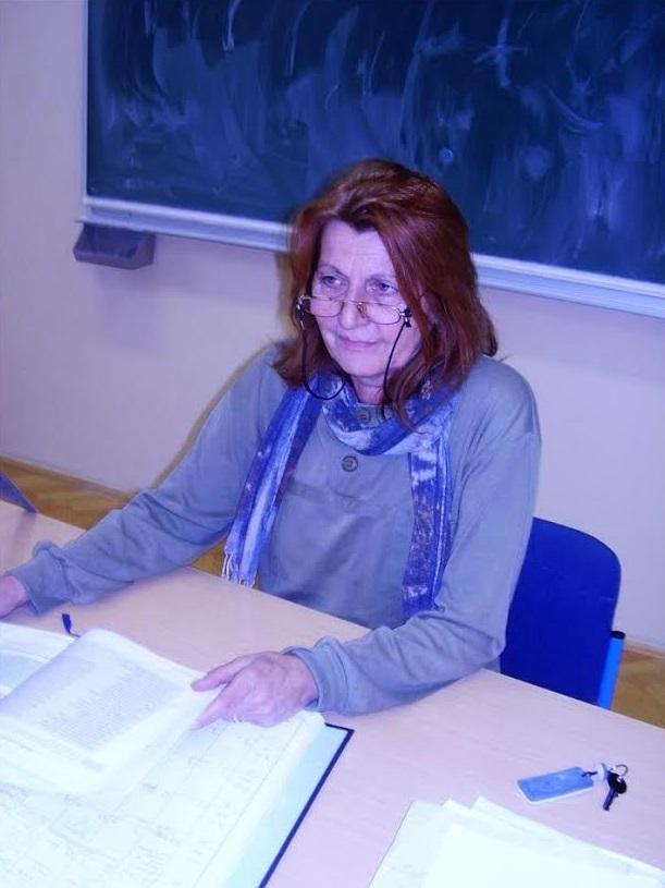 Profesorica Šelendić na nastavi