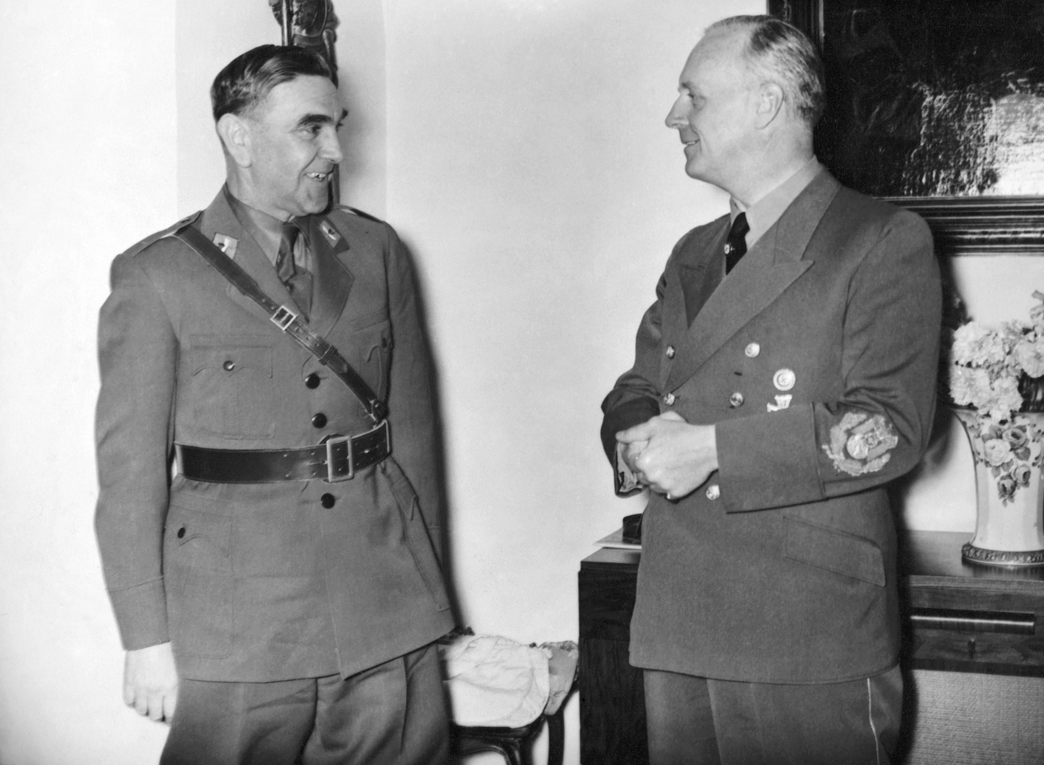Ante Pavelic and Von Ribbentrop