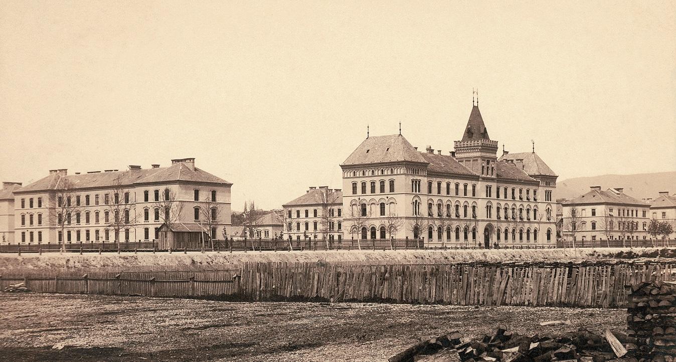 Pješačka vojarna 'princa Rudolfa' u Zagrebu snimljena 189. godine