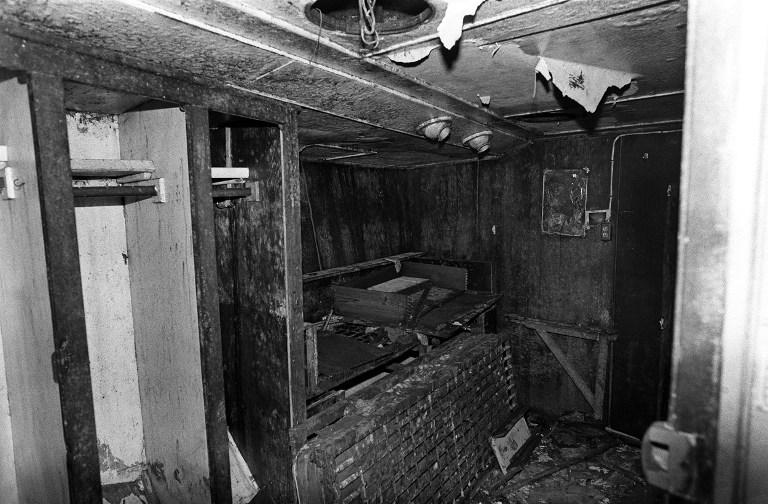 Kabina u kojoj je pronađeno Pereirino tijelo