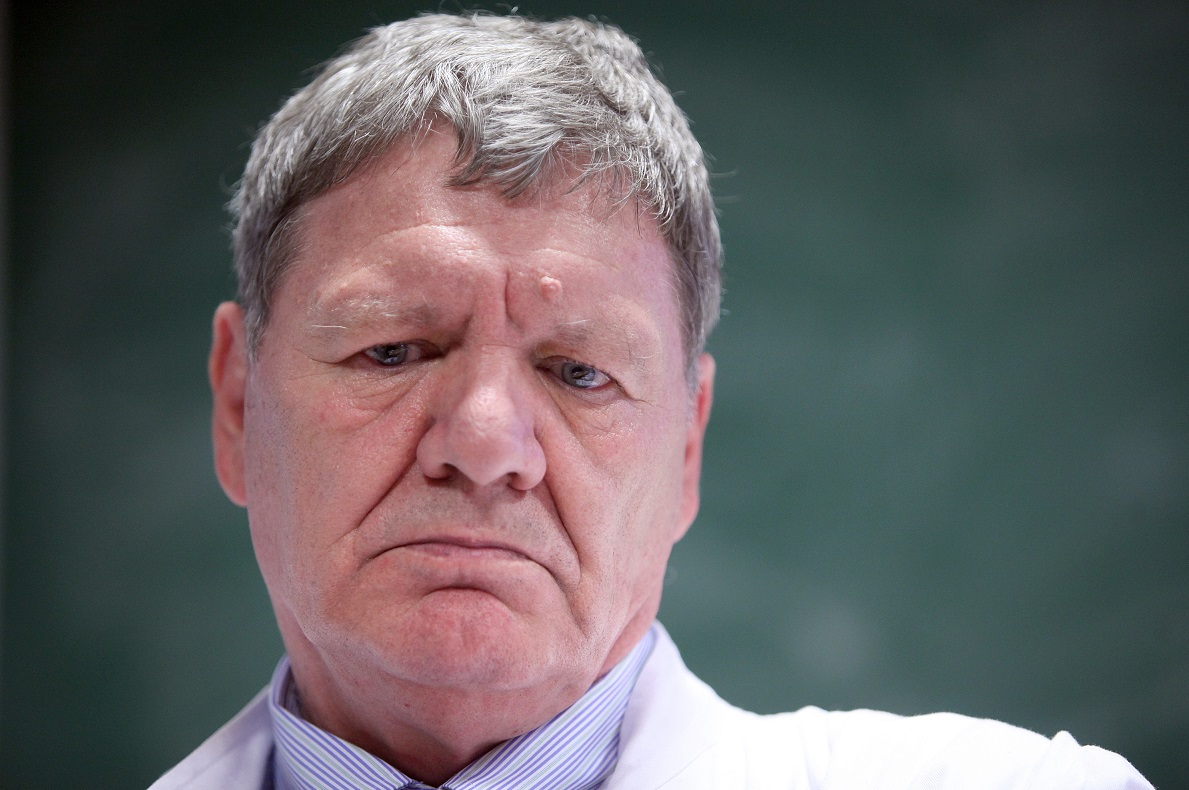 Boris Labar, hematolog i bivši dekan Medicine