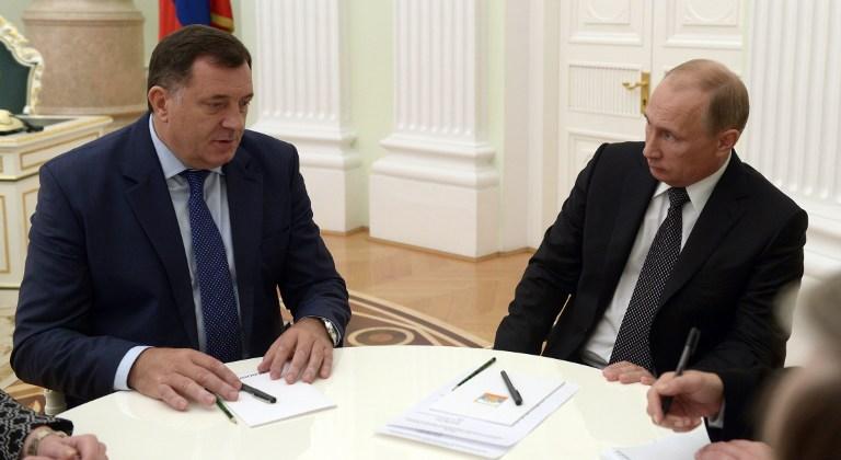 Susret Dodik-Putin u Moskvi