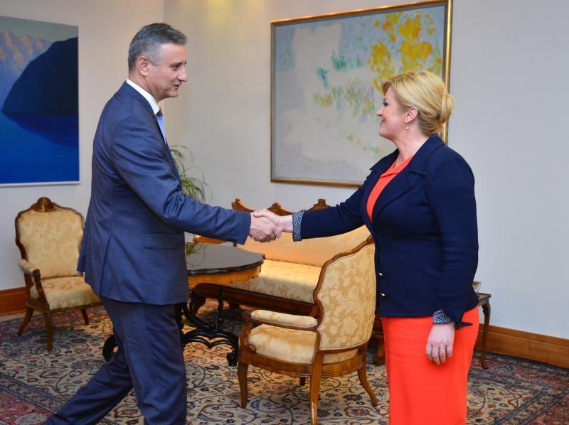 Tomislav Karamarko i predsjednica Grabar-Kitarović