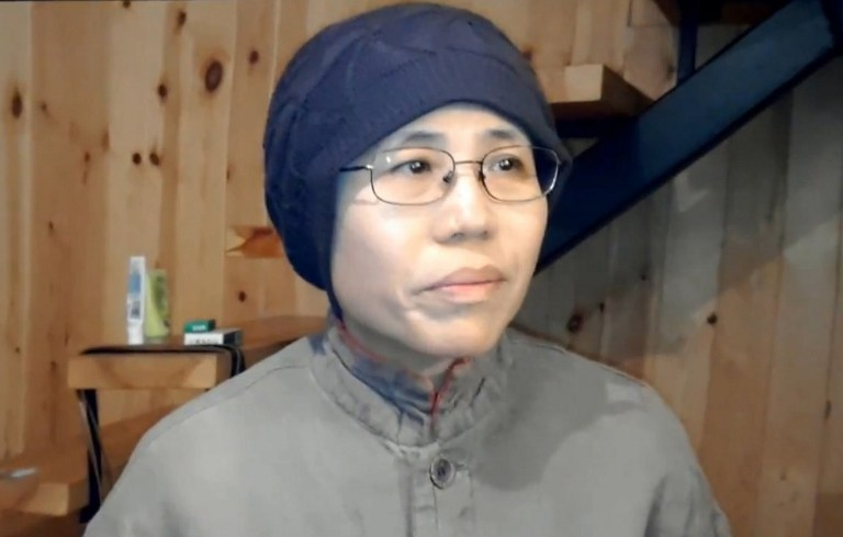 Njegova žena Liu Xia