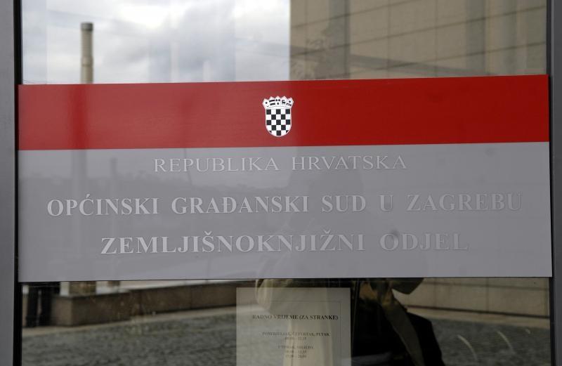 08.02.2008., Zagreb - Opcinski gradjanski sud u Zagrebu, zemljisnoknjizni odjel, gruntovnica, Photo: Goran Stanzl/PIXSELL