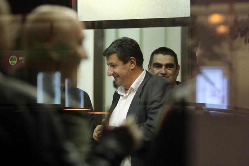 16.04.2014., Zagreb - U Domu specijalne policije odrzan je skup podrske uhicenom Josipu Klemmu. Sastanak je bio zatvoren za medije. Photo: Goran Jakus/PIXSELL