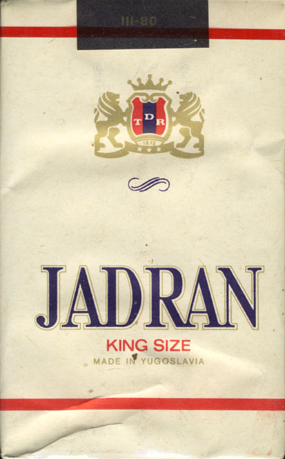 jadran cigarety by