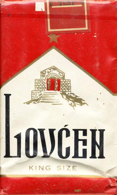 lovcen 2 cigarety by