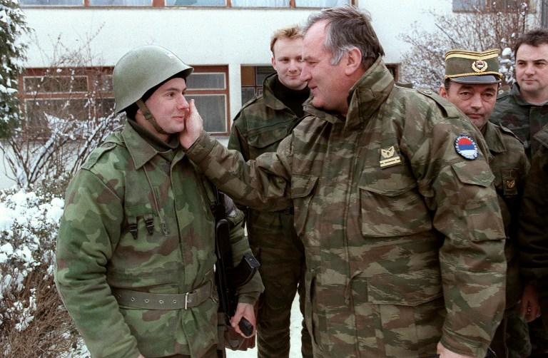 Zapovjednik vojske bosanskih Srba Ratko Mladić
