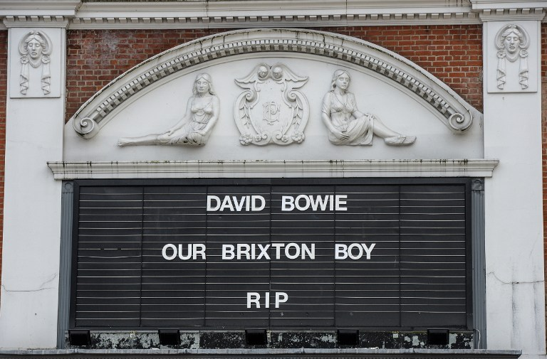Počast Davidu Bowieu na kinu u Londonu