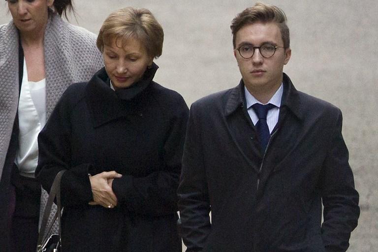 Marina Litvinenko i njen sin Anatolij