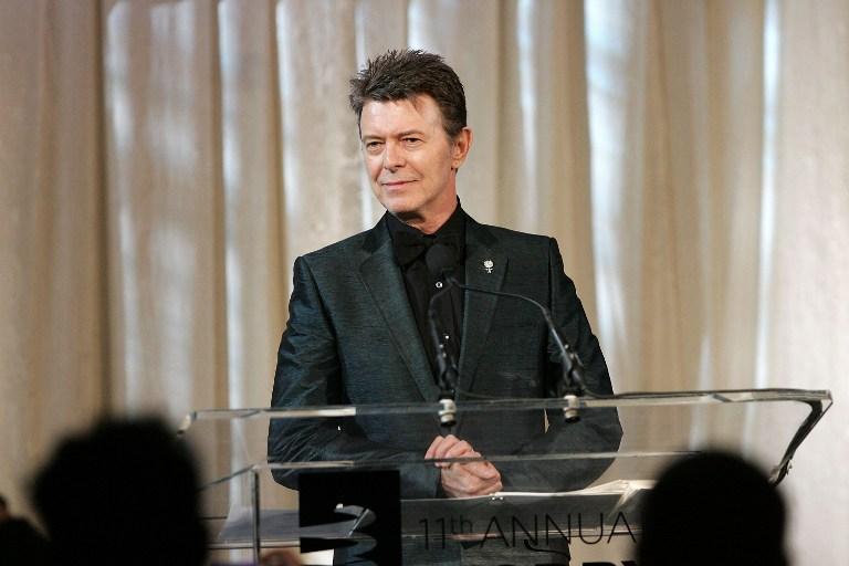 Bowie na dodjeli nagrada
