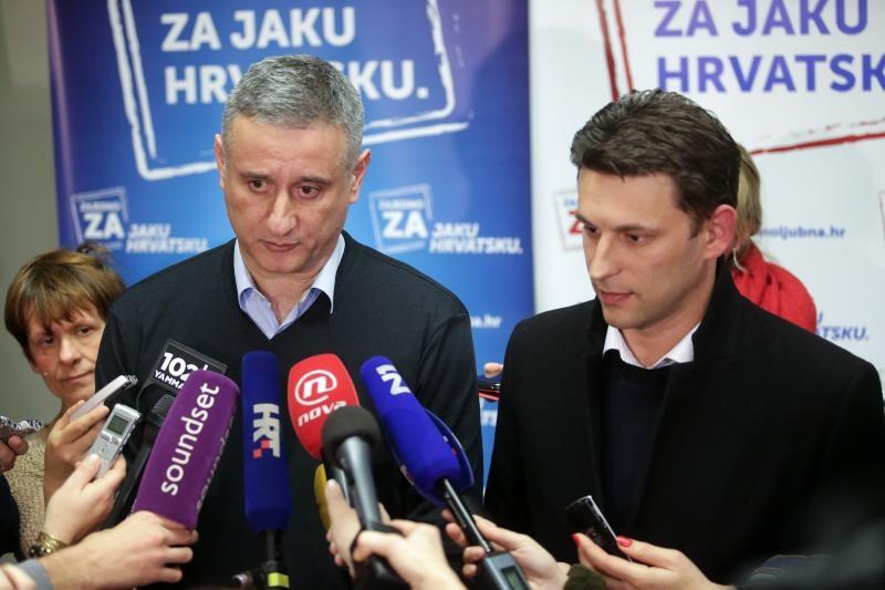 Karamarko i Petrov odustali su od smanjenja broja ministarstava, barem privremeno