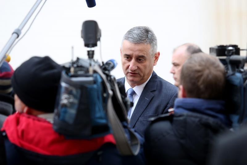 23.01.2016., Zagreb - Novi ministri dolaze na sjednicu vlade. Tomislav Karamarko. Photo: Goran Jakus/PIXSELL