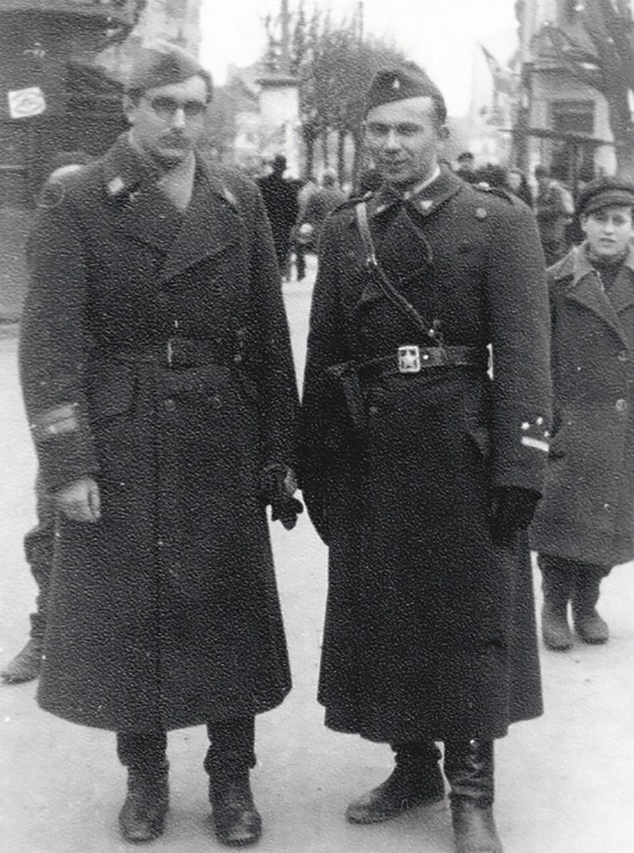 Franjo Tuđman i Joža Horvat 1945. godine