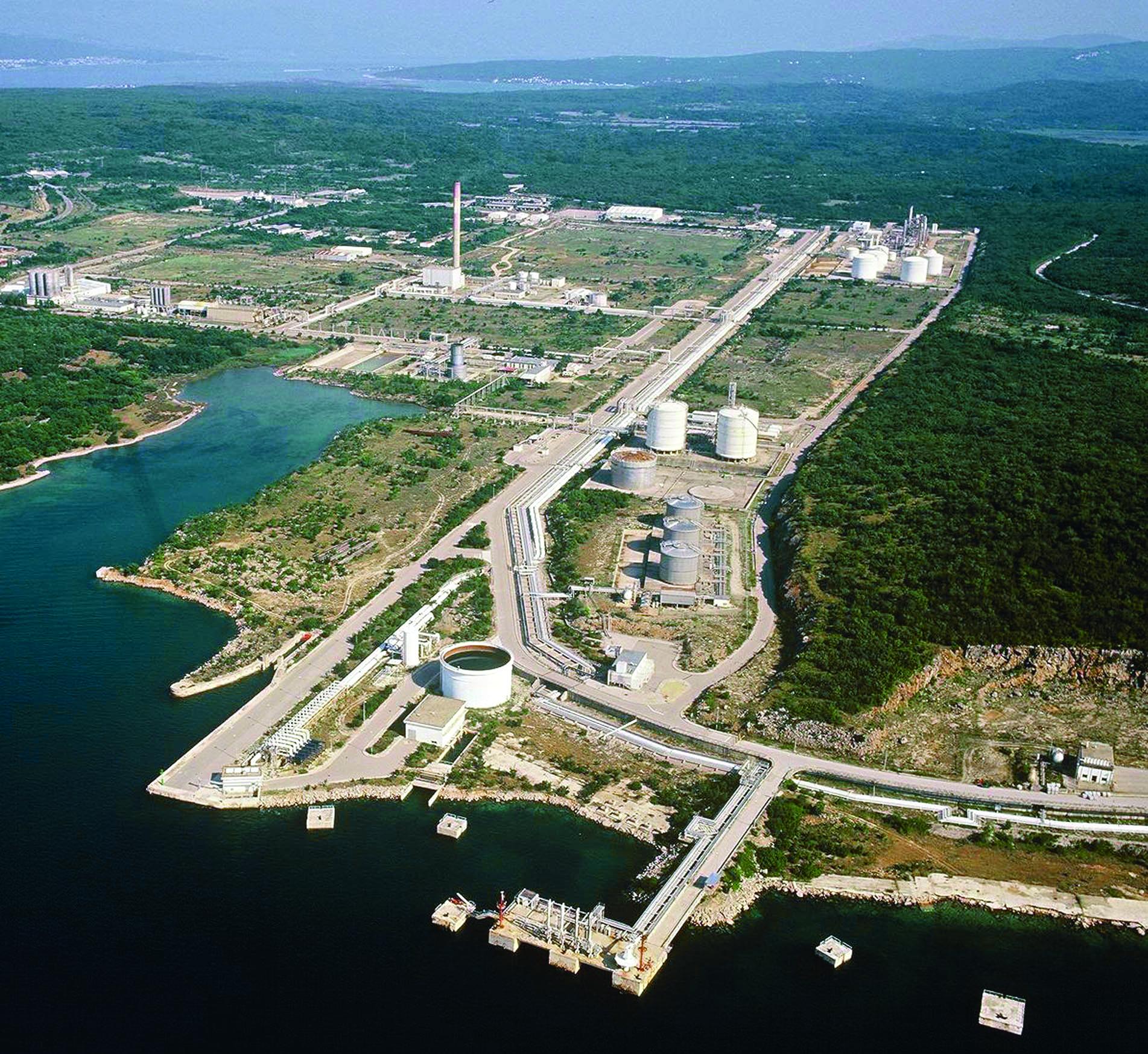 08.09.2008 Rijeka - Sustav jadranskog naftovoda - terminal Omisalj, projekt