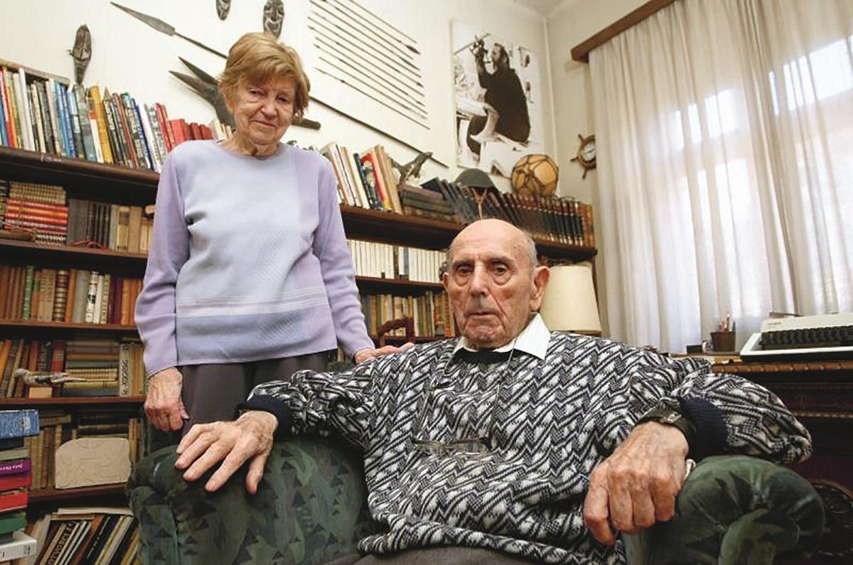 Renata i Joža Horvat 2011. godine