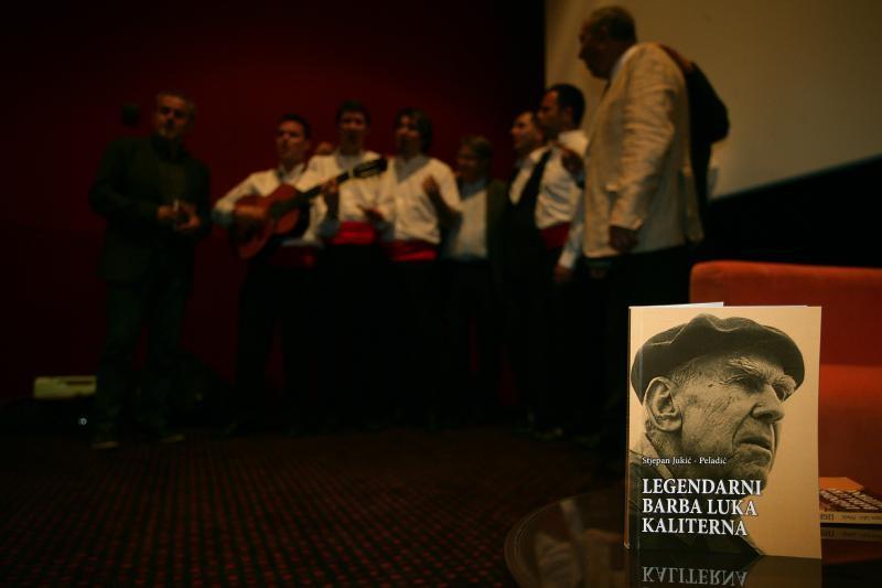 Promocija knjige Legendarni barba Luka Kaliterna